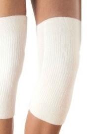 Wollen kniewarmers voor reuma bi-elastisch huidskleur (warmtekleding Peters Angora) - 11280