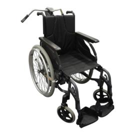 Tweedehands Invacare rolstoel met Alber duwondersteuning - 16802961 (Gereserveerd 2091)