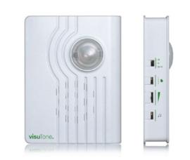Extra harde deur- of telefoonbel versterker voor slechthorenden (ook deurbel appartement) - VisuTone