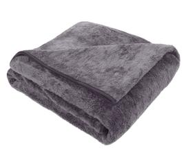 Fleece deken, plaid voor op uw bed