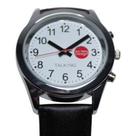 Sprekend horloge (unisex) met uitspraak van tijd en datum - 643011