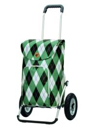 Boodschappenwagen met grote luchtbanden, Royal Shopper Arik Groen