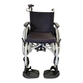 Tweedehands rolstoel Ecotec met duwondersteuning - 16803773