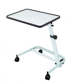 Bedleestafel verrijdbaar in het wit