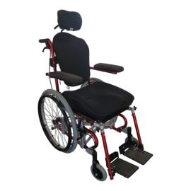 Tweedehands kantelbare rolstoel met AD zitting van Promedicare - 16798653