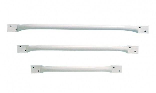 Witte wandbeugel 68 cm - PR45562