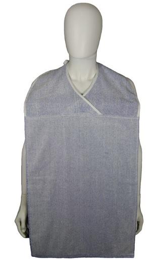 Volwassenen blauwe slab met verstelbare halswijdte