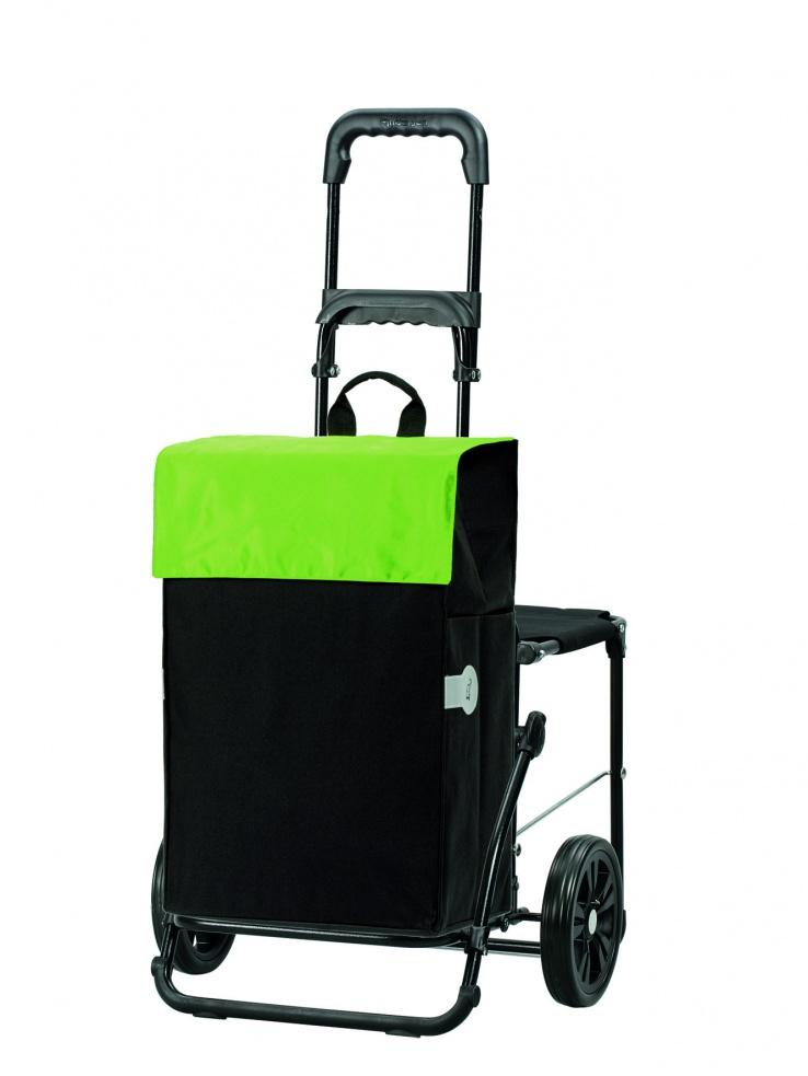 Boodschappenwagen met zitje, Hera Groen