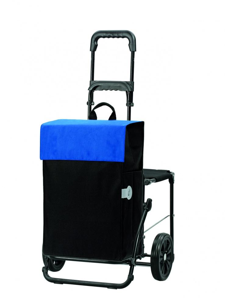 Boodschappenwagen met zitje, Hera Blauw