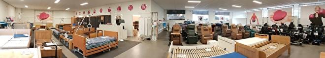 Thuiszorgwinkel voor nieuw- en tweedehands sta-op stoelen