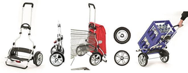 Royal Shopper Plus Andersen met grote wielen voor achter de fiets