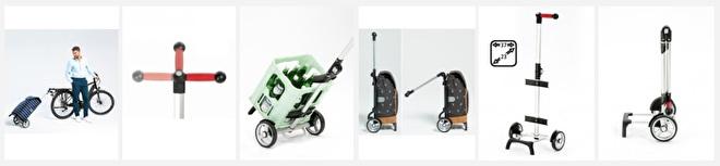 Overzichtsfoto functies lichte boodschappenwagen, Unus Shopper Fun