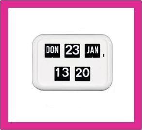 Kalenderklok QD-35, Dag/datum klok