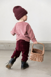 I Dig Denim - Ash velour sweater