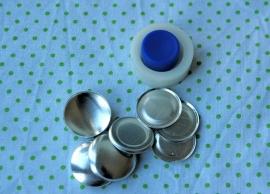 10 losse stofknopen 23 mm