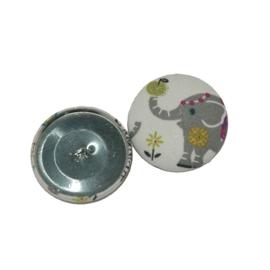 Knopen Olifantje (38 mm)