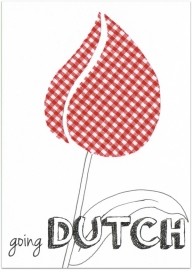 Wenskaart Going Dutch (kleur)