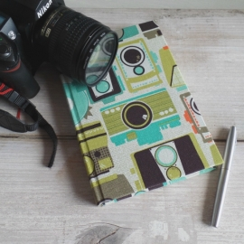 Notitieboek retro Camera`s