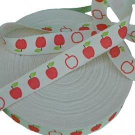 Zakka band appeltjes (15 mm)