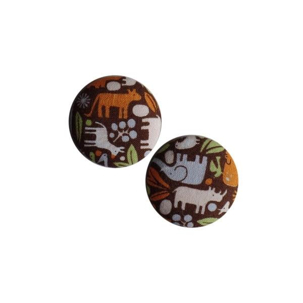 Magneten  Dierentuin bruin (38 mm)