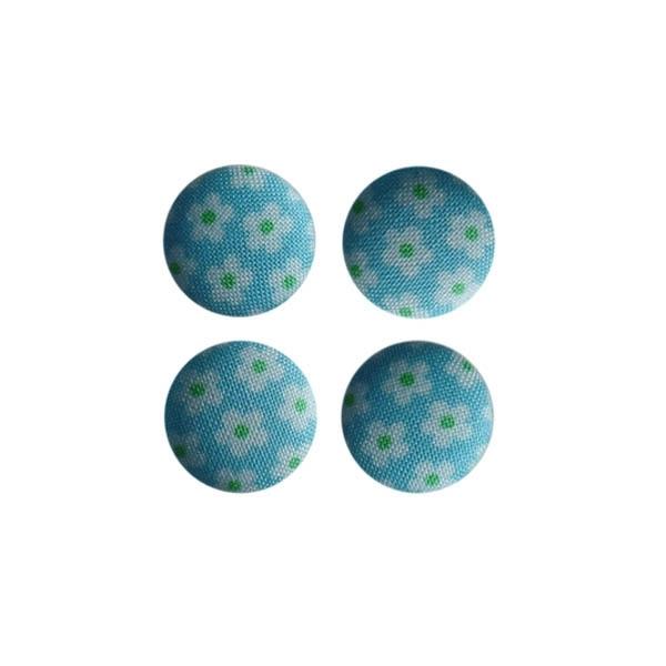 Magneetjes Retro bloemetje (19 mm)