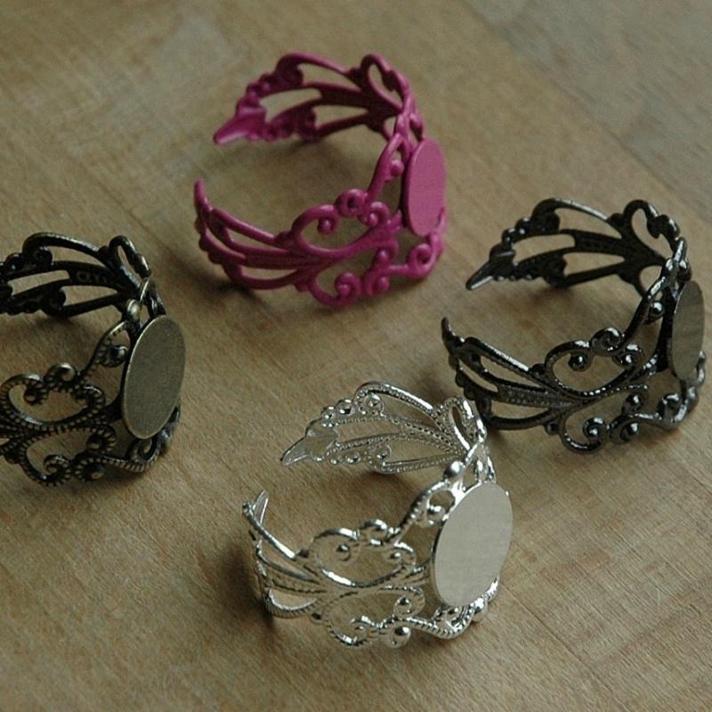 Barokke ringen (5 kleuren)