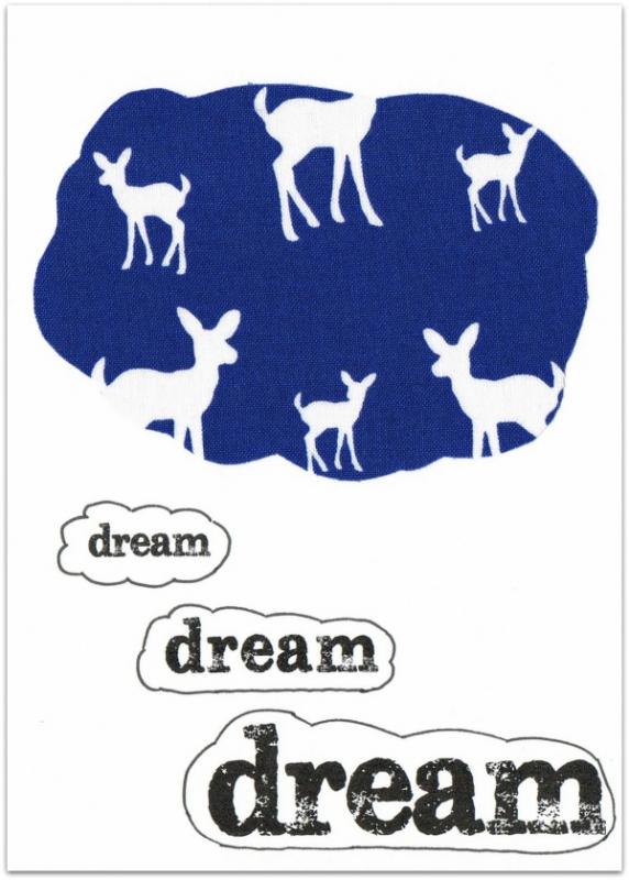 Wenskaart Dream