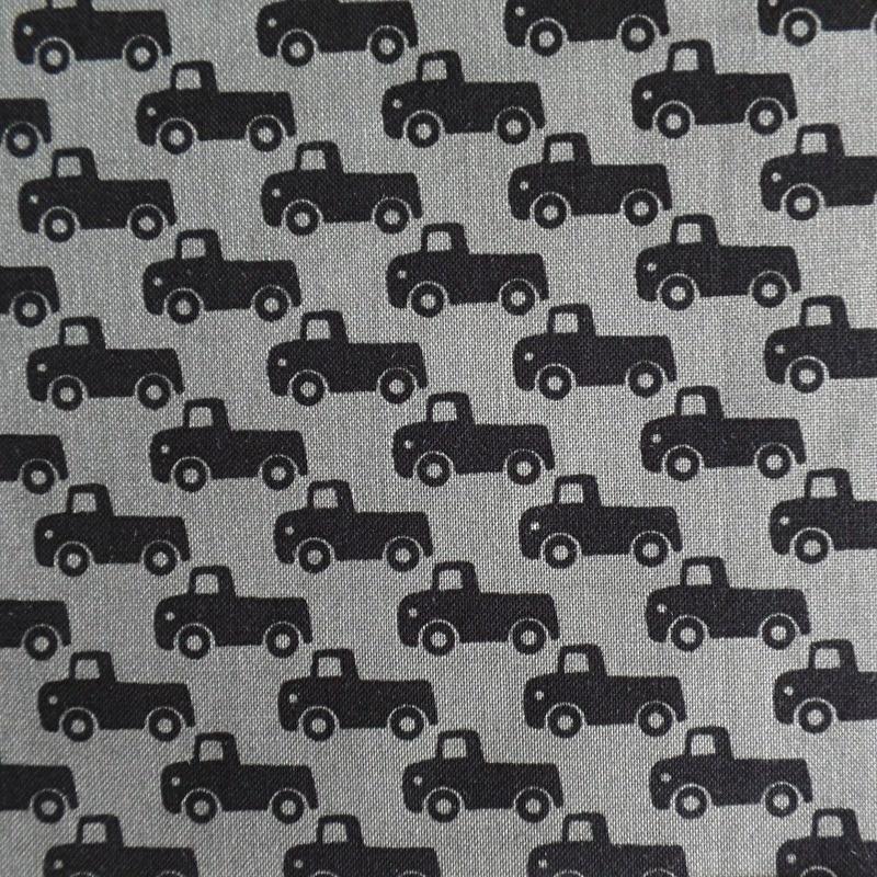 Lapje  Mini Trucks (grijs)