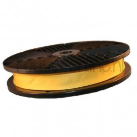 Judoband 40 mm / 40 meter geel (art. 51137)