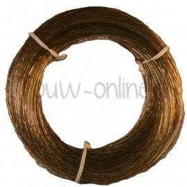 Waslijndraad PVC + staalkern 2,3mm / 10 meter (art. 46258)