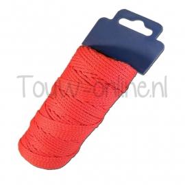 Sierkoord rood 2 mm / 50 meter (art. 90416)