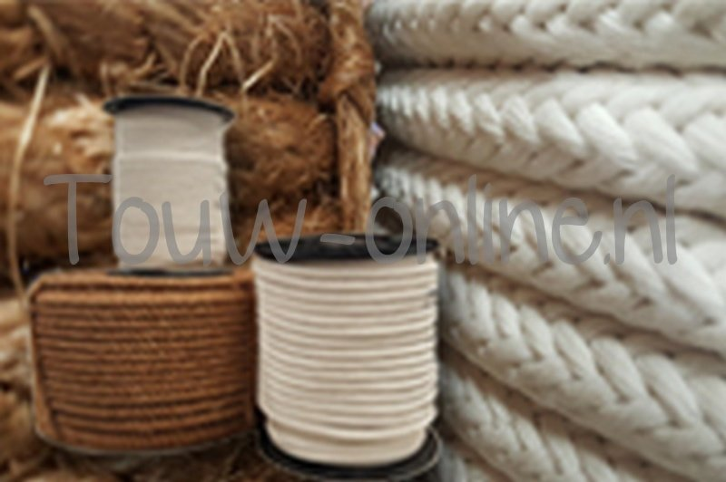 Katoen touw voor de varkenshouderij, diameter 20 mm 100 meter