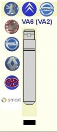 Peugeot Sleutelbaard VA2 (set a 2 stuks)