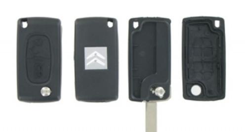 Peugeot/Citroen 3- knops klapsleutel ZB