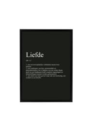 LIEFDE 'BLACK EDITION'