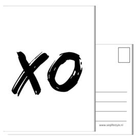 KINDERKAART:  XO