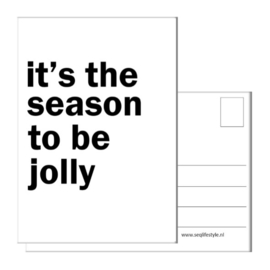 IT'S THE SEASON TO BE JOLLY