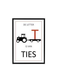 Tractor Terra met naam