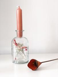 Flesje roze