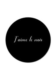 J'AIME LE NOIR
