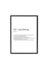 GZ-PSYCHOLOOG