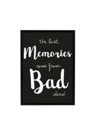 THE BEST MEMORIES - ZWART