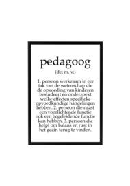 PEDAGOOG