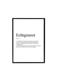 ECHTGENOOT SARCASTISCH