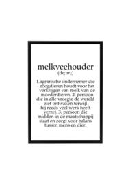 MELKVEEHOUDER