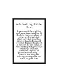 AMBULANT BEGELEIDSTER