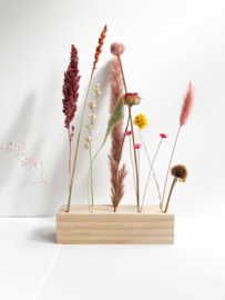 Plateau droogbloemen 15 cm