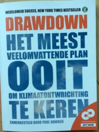 Paul Hawken: Drawdown - 100 oplossingen om de klimaatontwrichting te keren