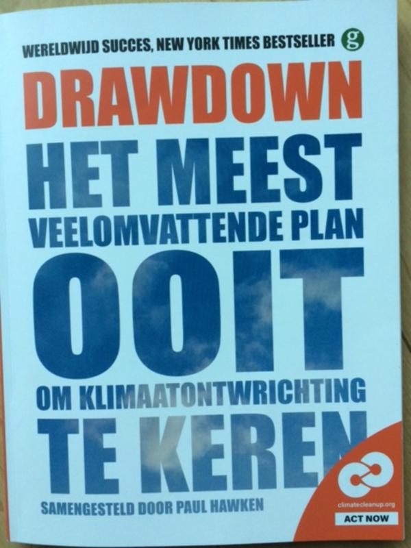 Paul Hawken: Drawdown - 100 oplossingen om de klimaatontwrichting te keren