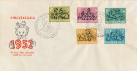 æ E 011 - 1952 Kinderzegels